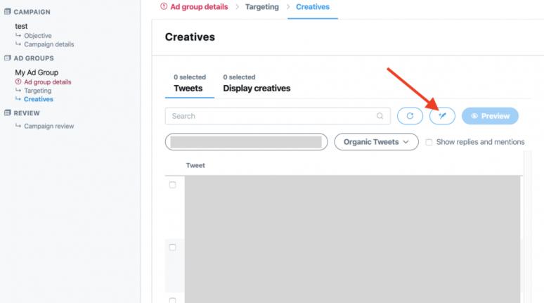 twitter ad creative