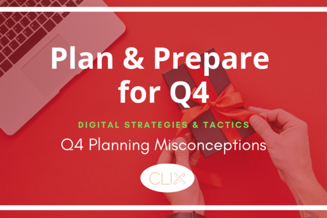 plan and prepare for Q4 a blog post about planning misconceptions