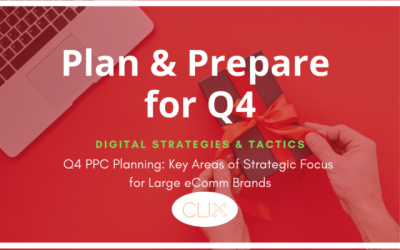 Q4 PPC Planning: Key Areas of Strategic Focus for Large Ecomm Brands