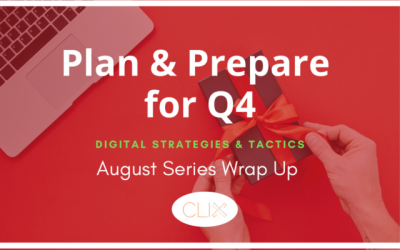 Q4 PPC Planning: August Series Wrap-Up